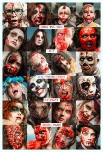 Zombie Walk Paris 2016 - Flyer - Frédéric Ravore